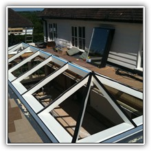 Glass Roof Work in Kent